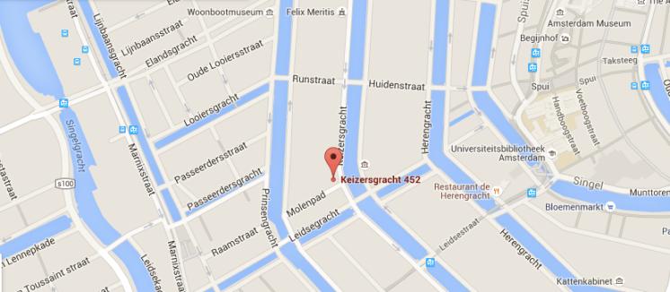 contact - keizersgracht 452